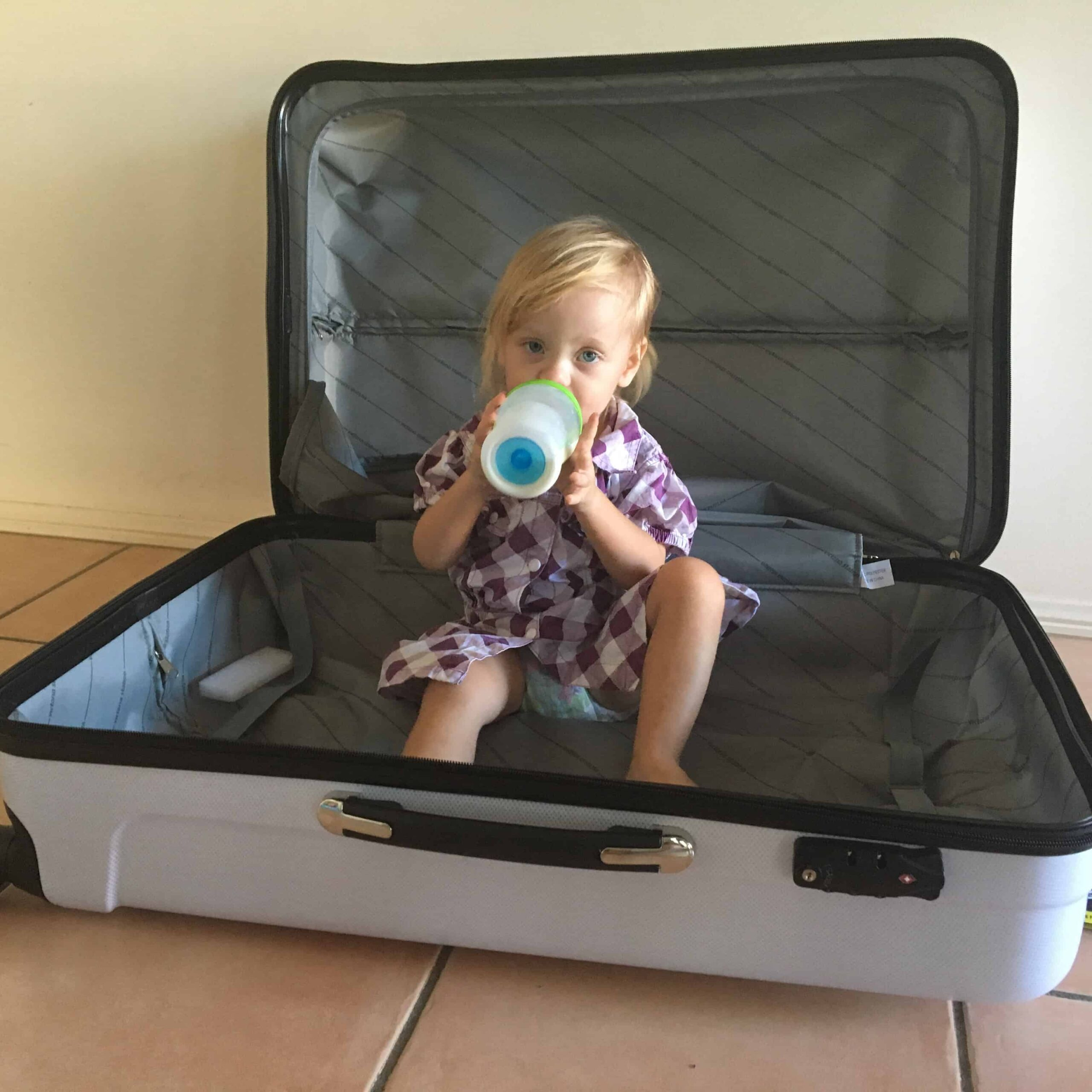 overseas travel with a toddler
