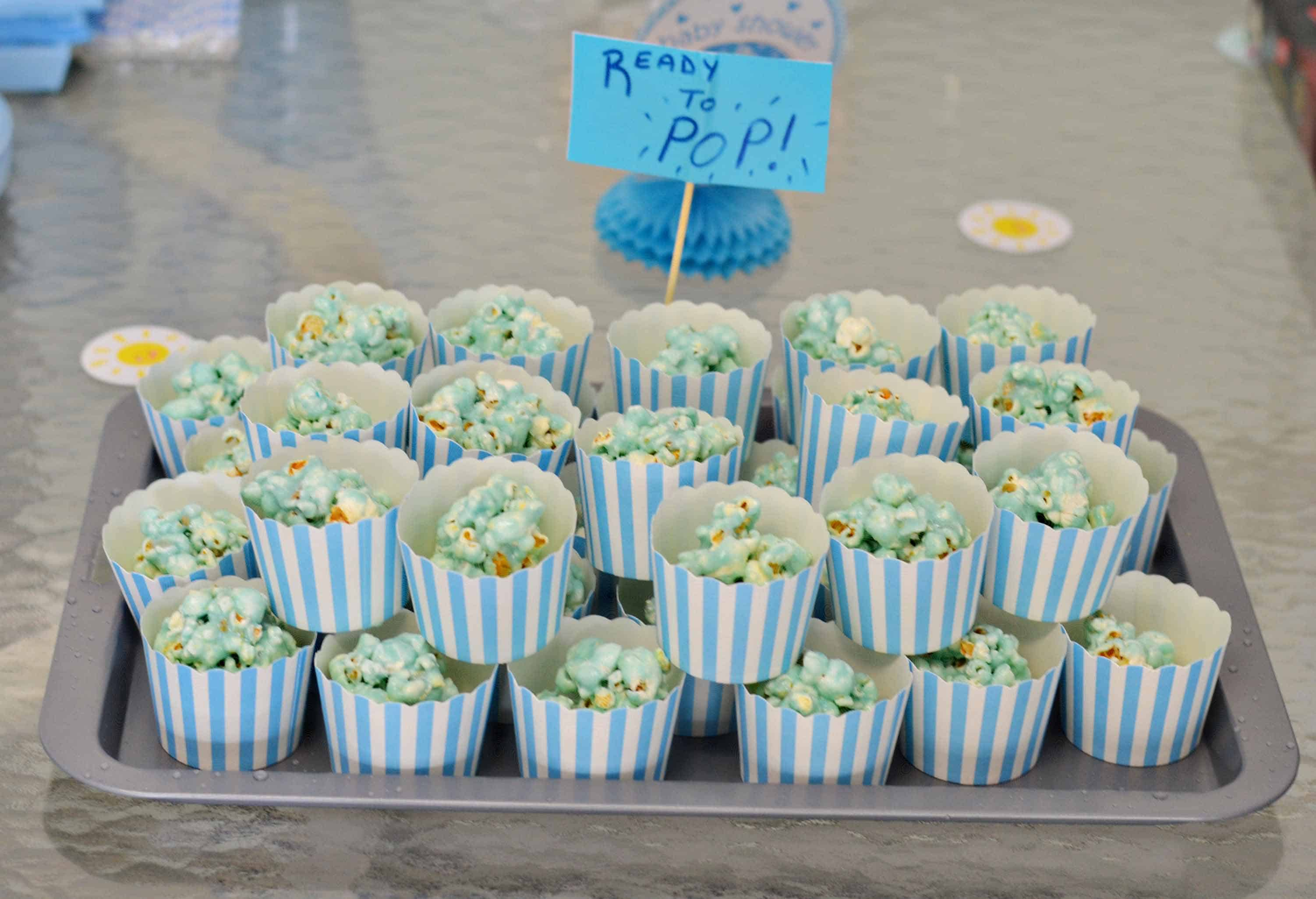 Blue Amp White Baby Shower Simplify Create Inspire