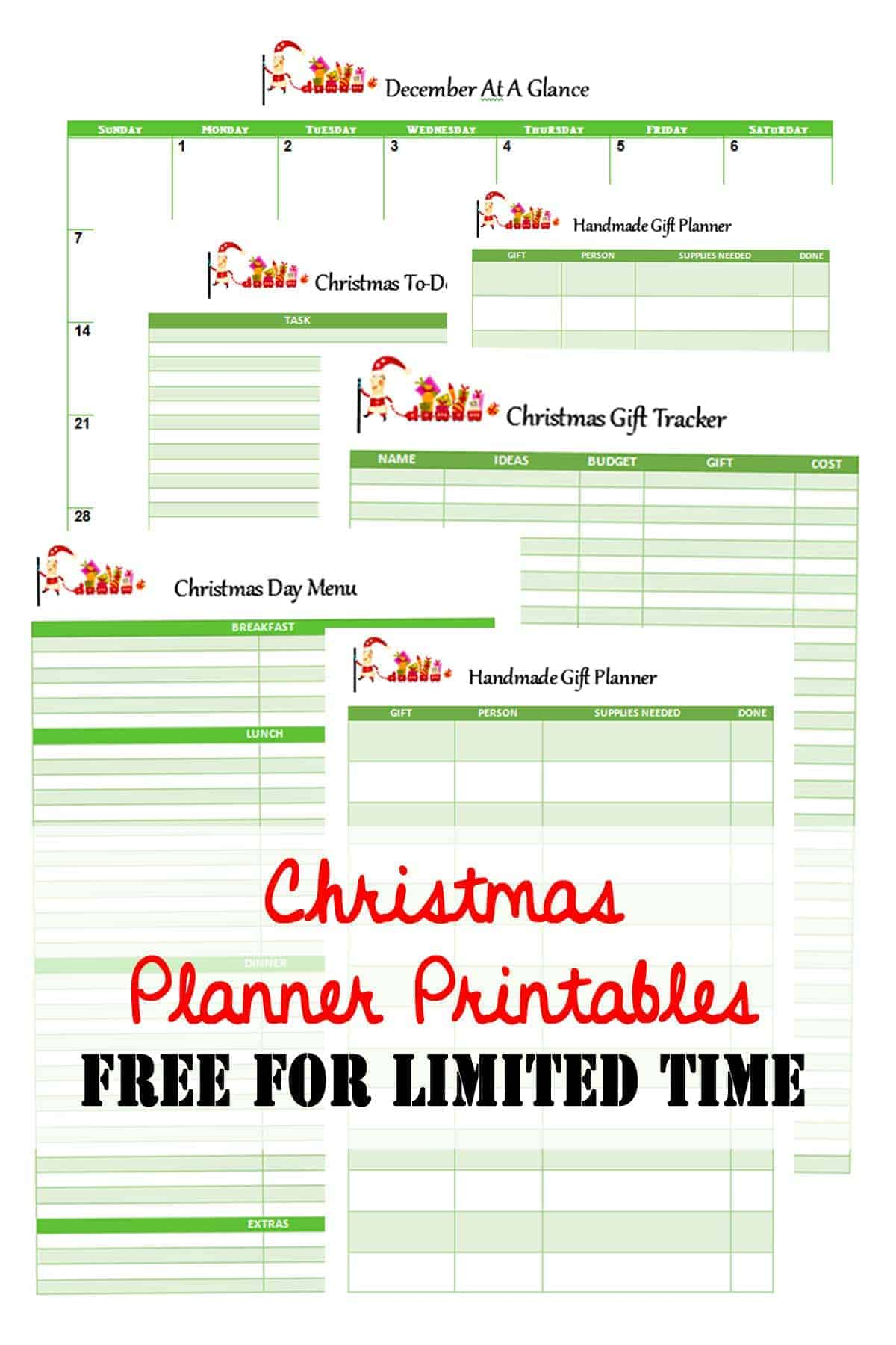 Christmas Planner Printables Free.Christmas Planner Printables Simplify Create Inspire