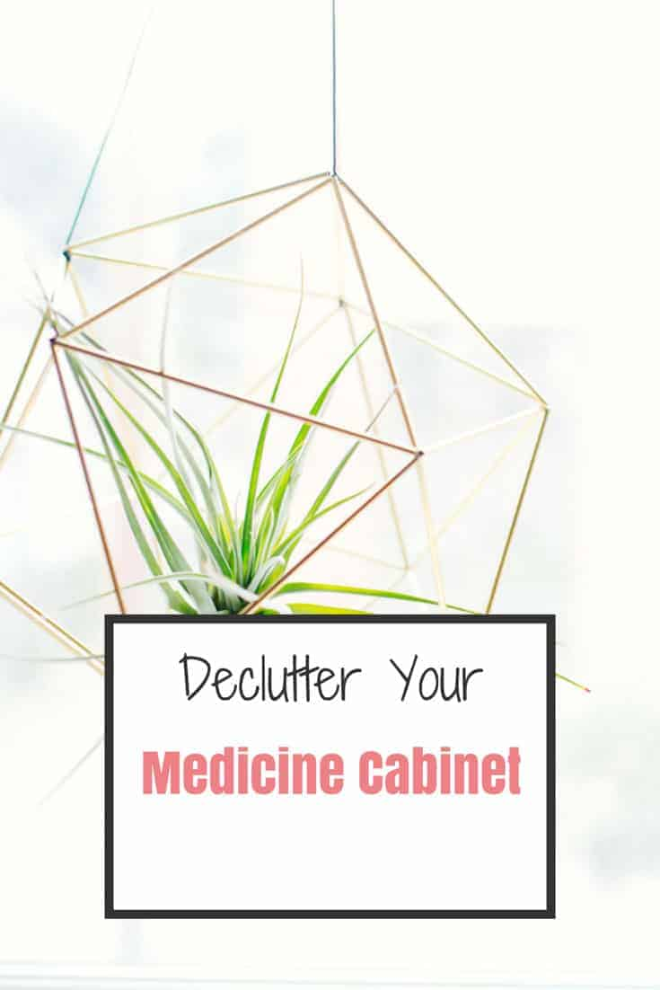 declutter medicine cabinet