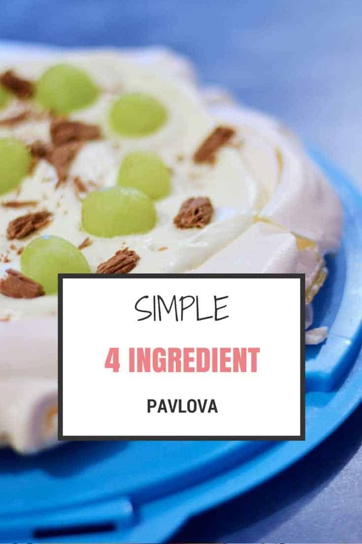 simple pavlova