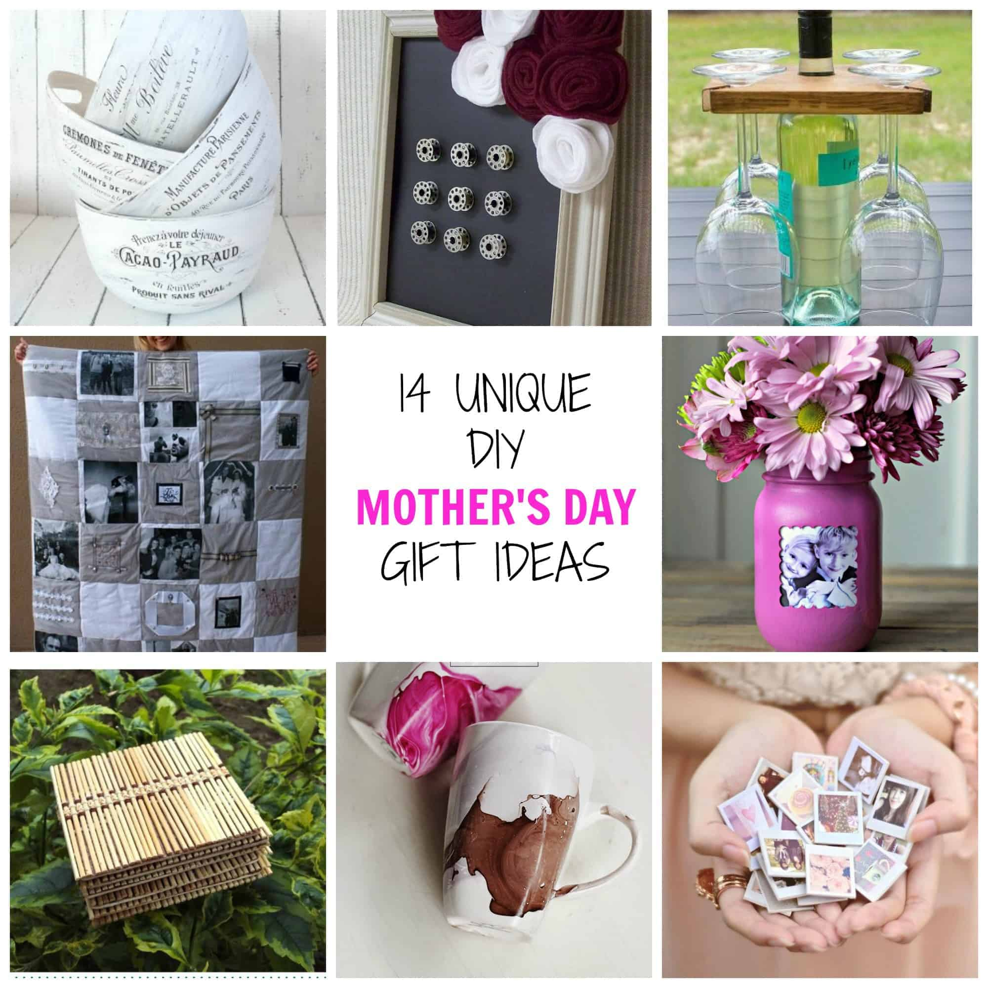 14 unique diy mother 39 s day gifts simplify create inspire Mothers day presents diy