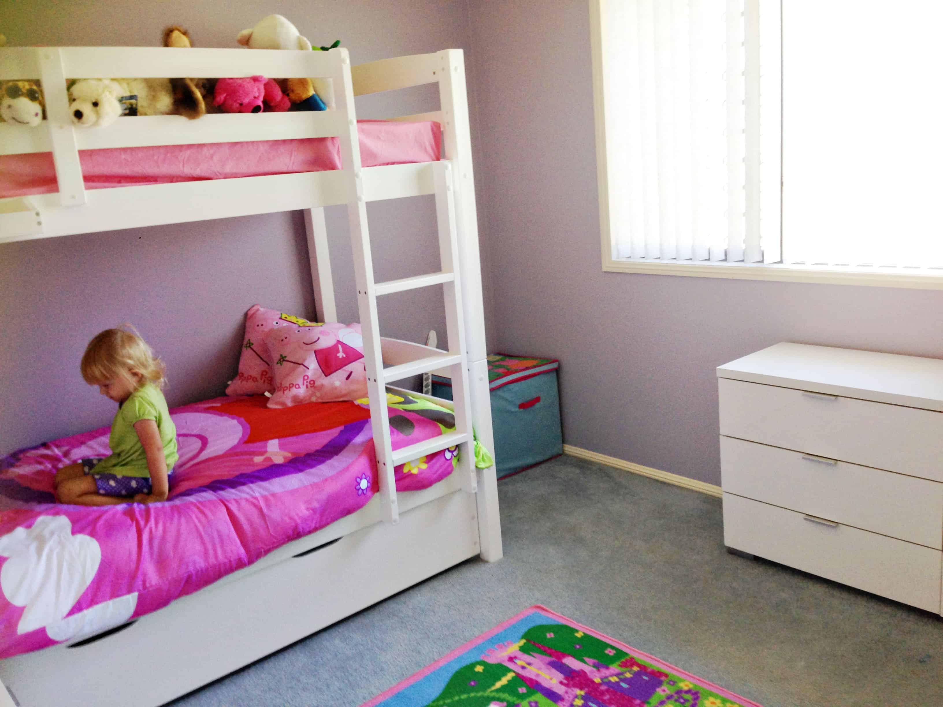 From Junk Room To Beautiful Bedroom The Big Reveal: Kids Bedroom Declutter Update