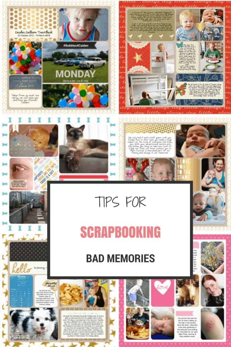 tips for scrapbooking bad memories
