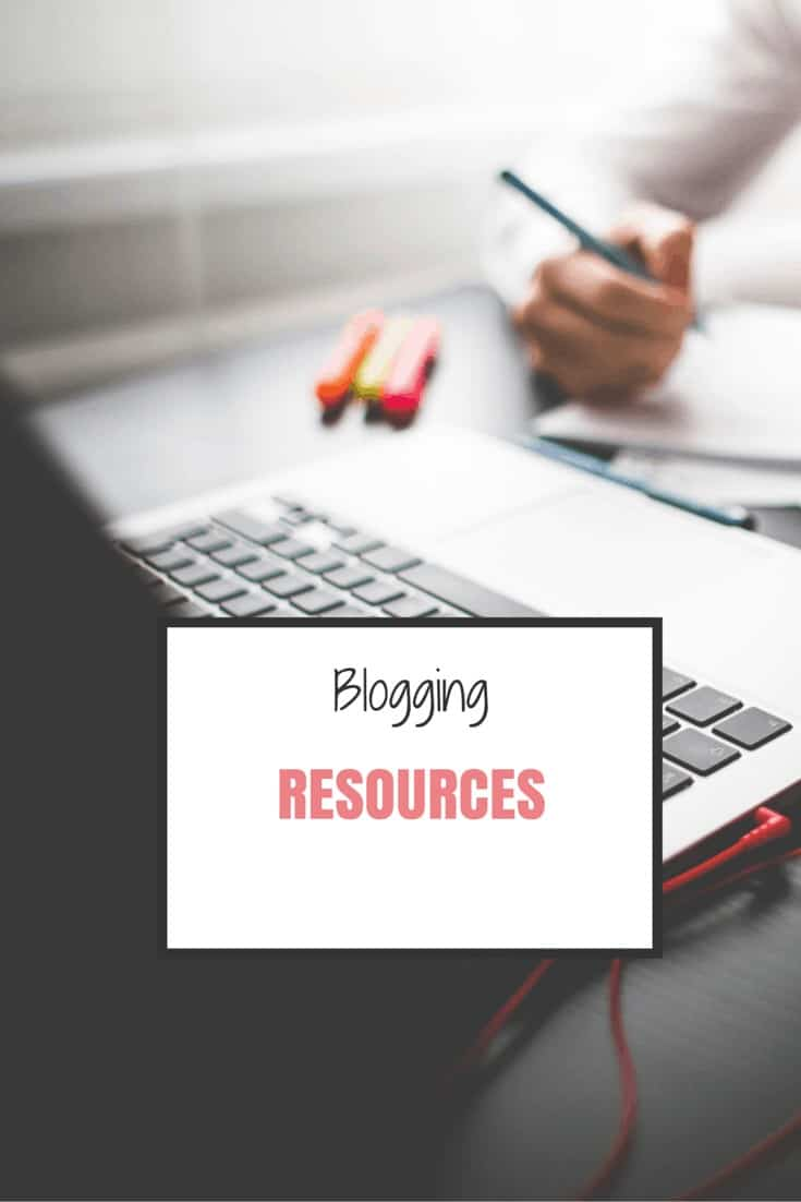 Must have blogging resources