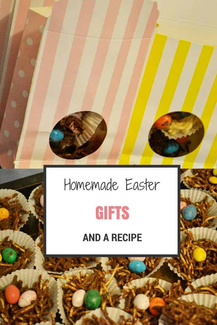 handmade easter gift and recipe