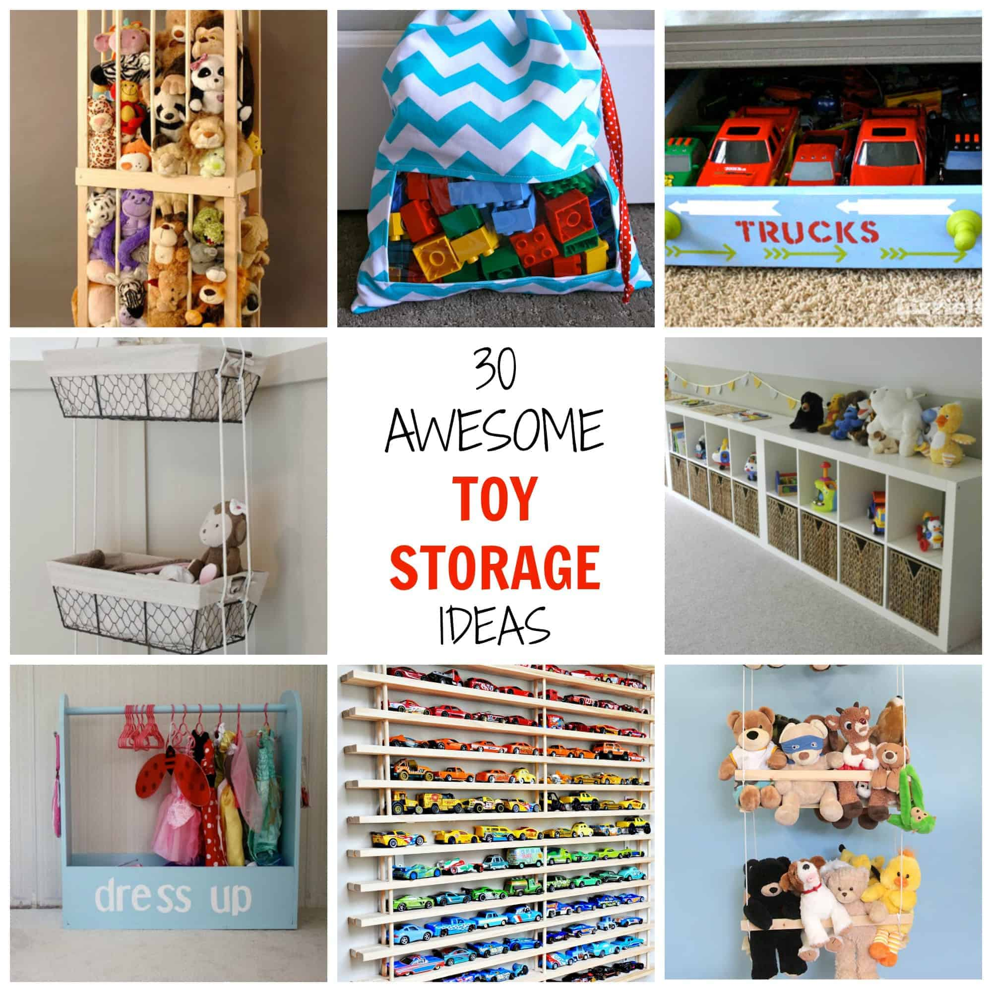 some genius toy storage ideas you can incorporate into your own home