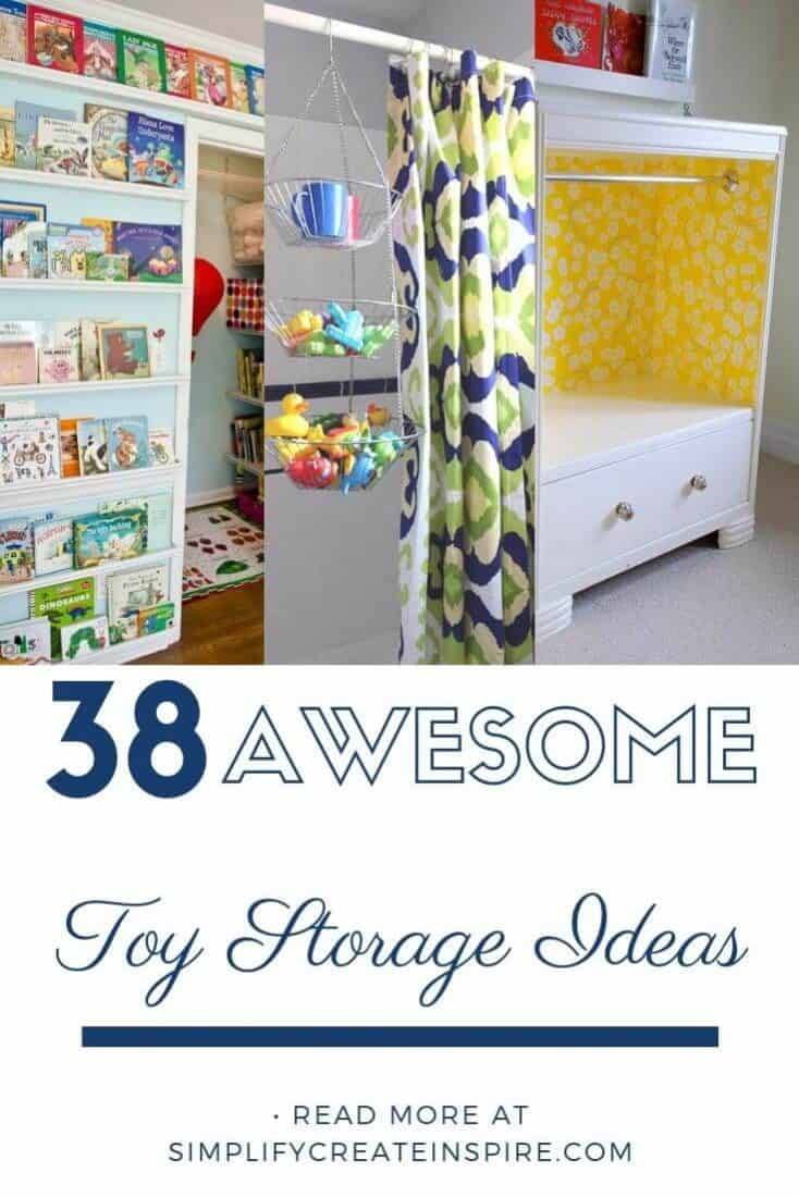 Simple toy storage ideas for home