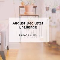 Home office declutter and checklist
