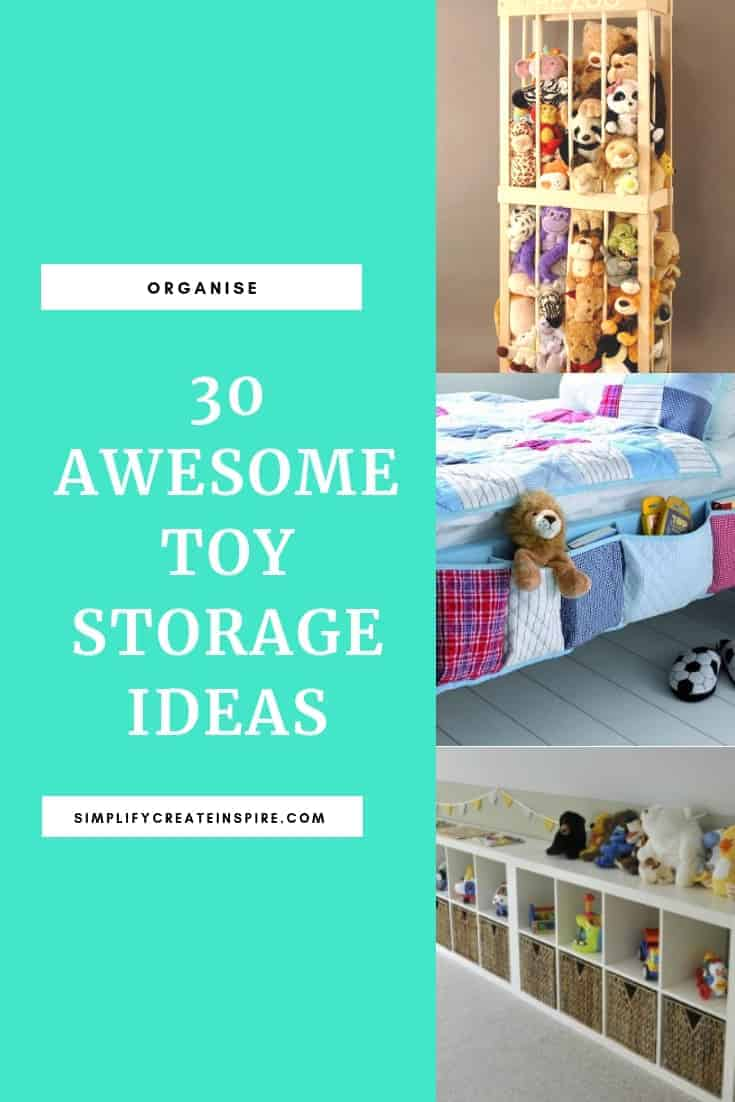 Toy storage ideas for the home and organising your kids toys