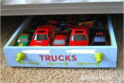 the best under bed toy storage