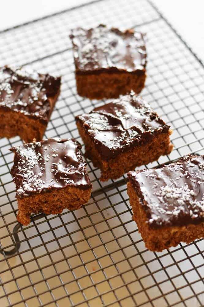 Easy chocolate slice recipe