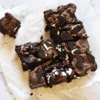 Fudgy Oreo Brownies Recipe