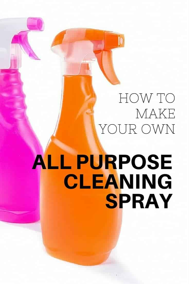 How to make your own all purpose cleaning spray - natural cleaning products for simple living