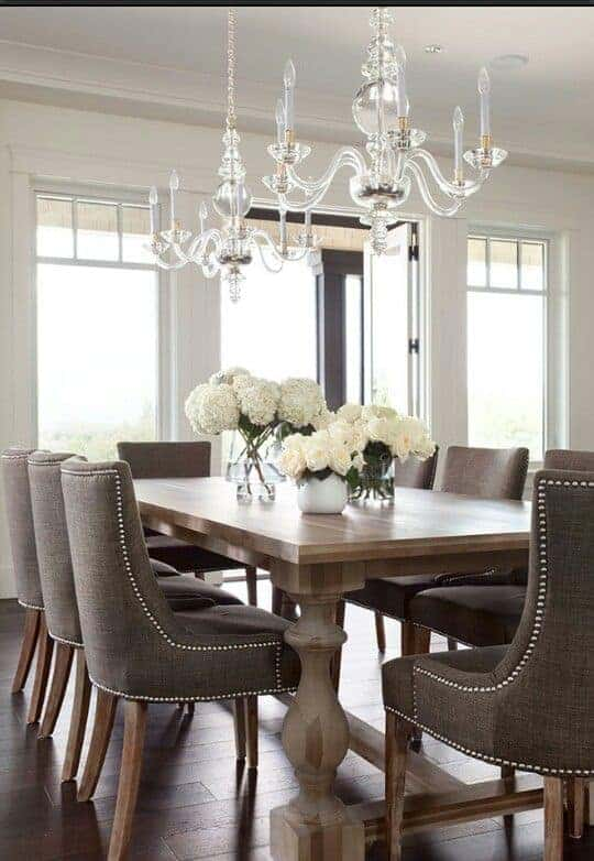 French dining table design