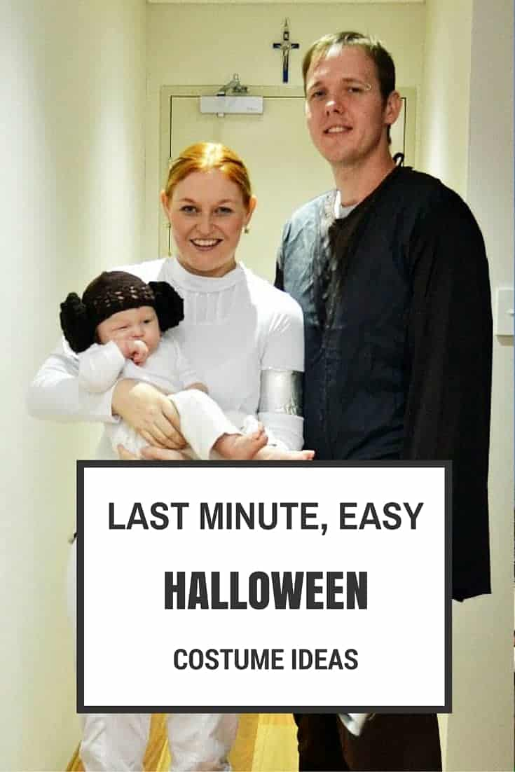 Simple And Cheap Living Room Decoration: Last Minute Easy Halloween Costume Ideas
