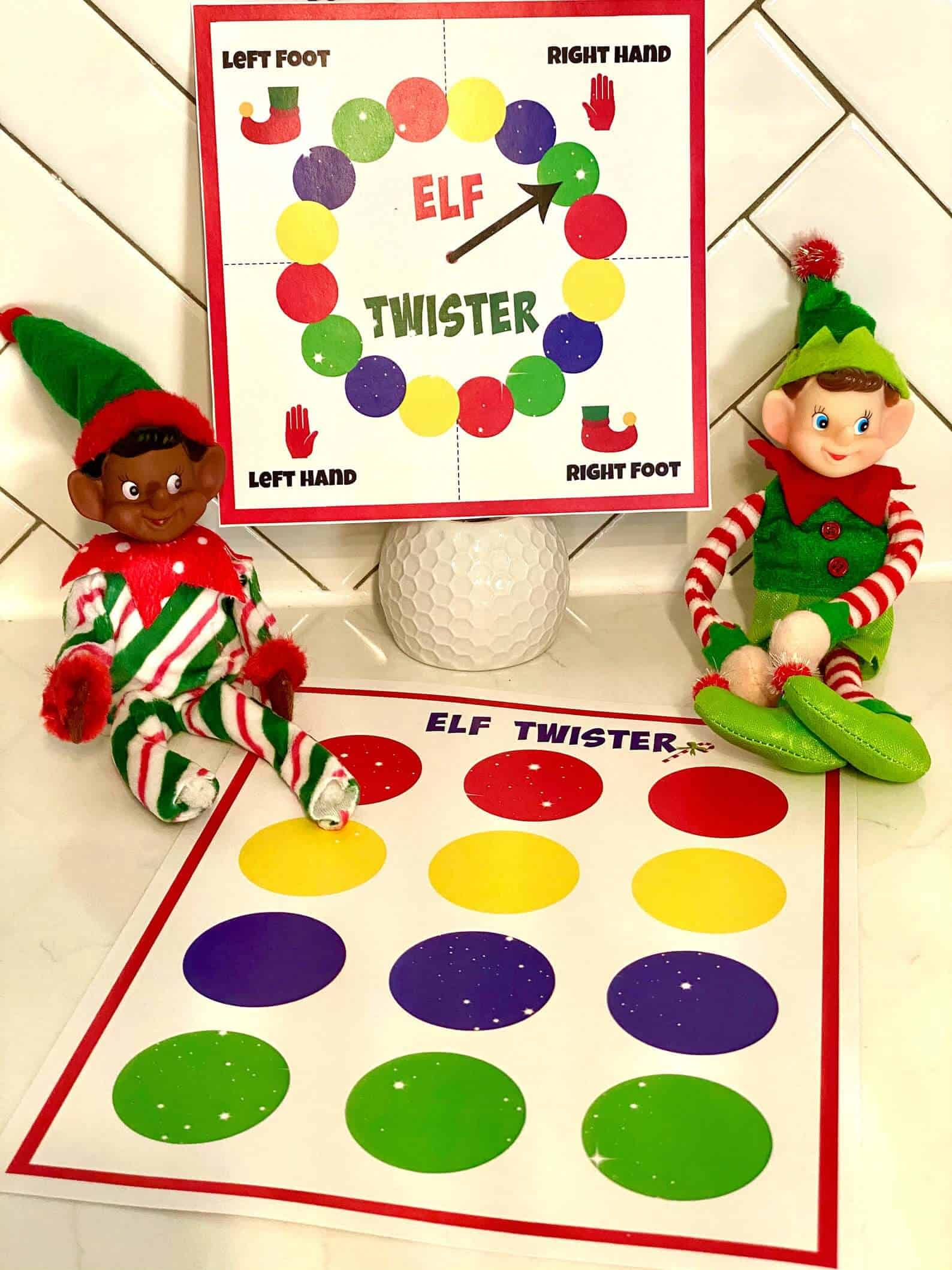 Printable elf games