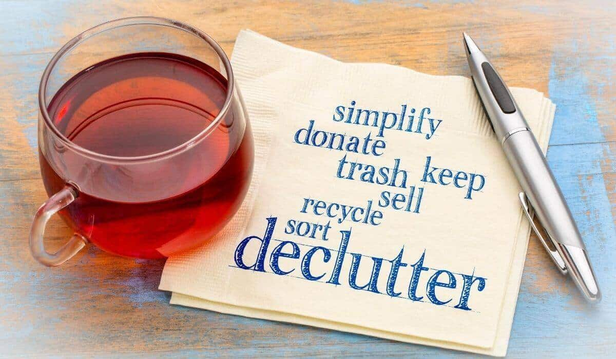 the truth about decluttering