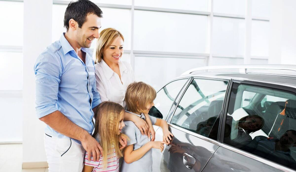 Buying a new family car