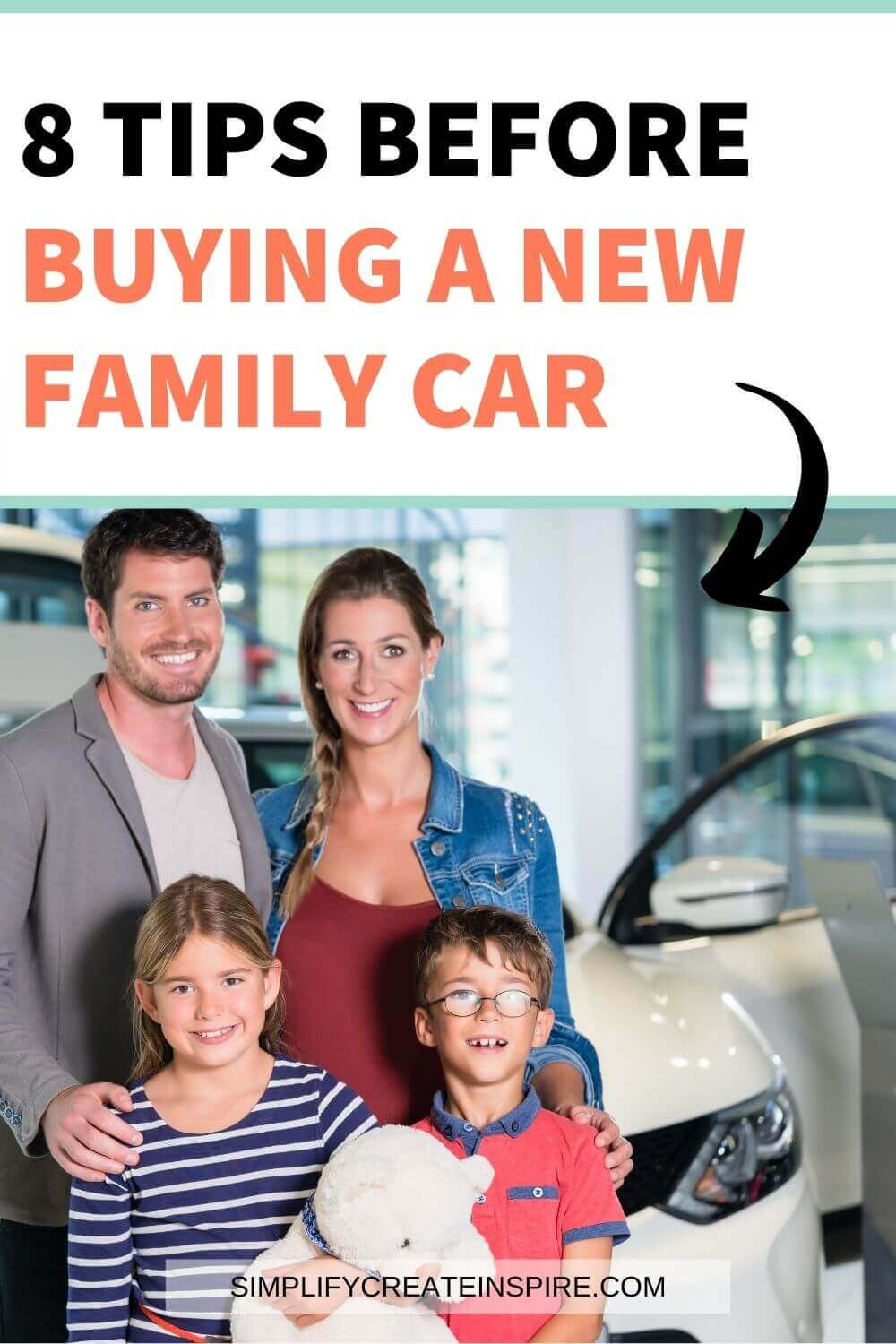 Tips for buying a new family car