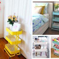 Creative Ikea raskog cart uses