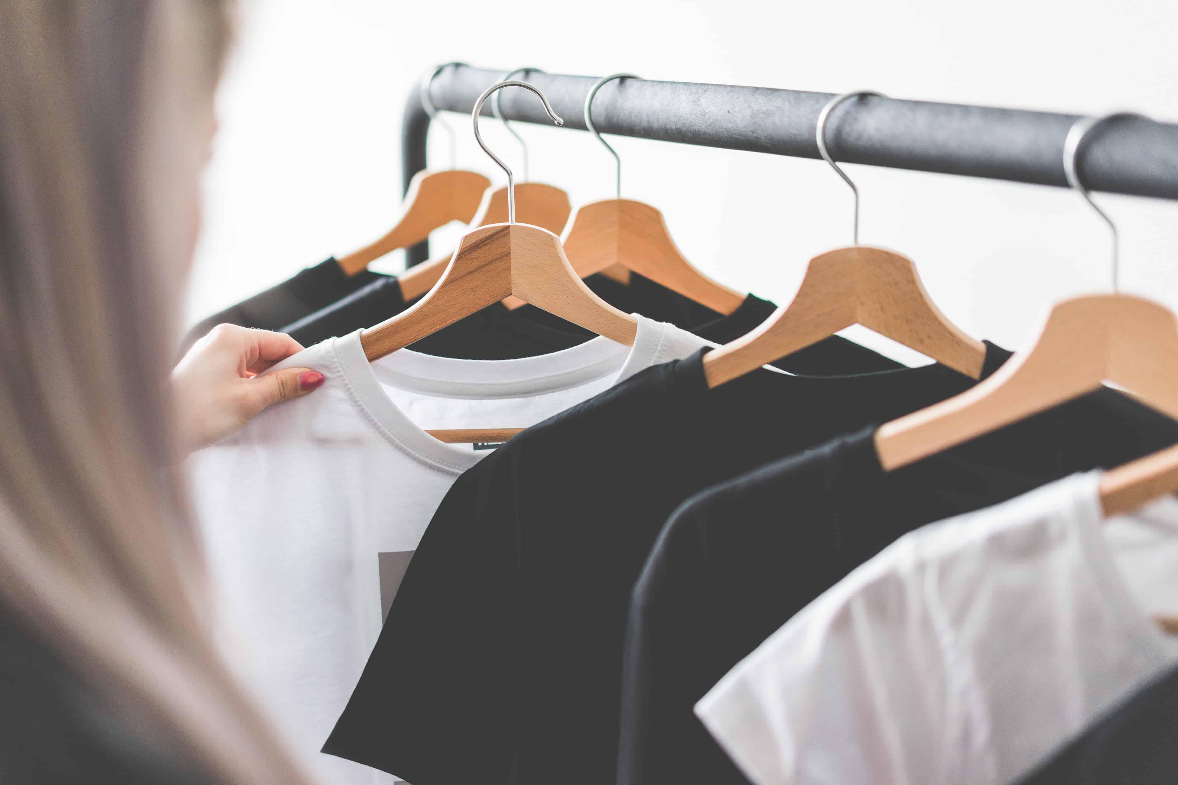 Easy wardrobe declutter hack