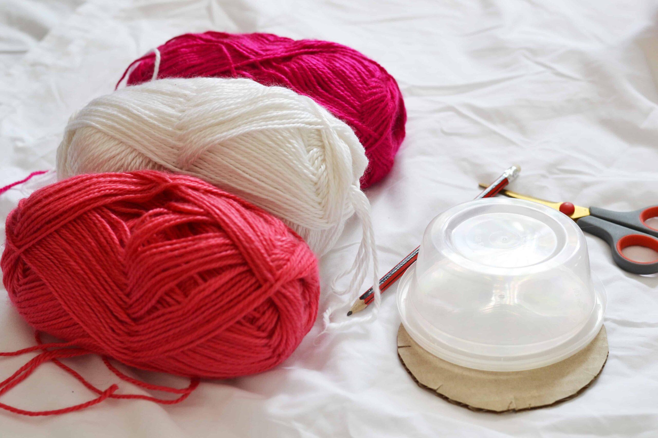 yarn bracelet materials