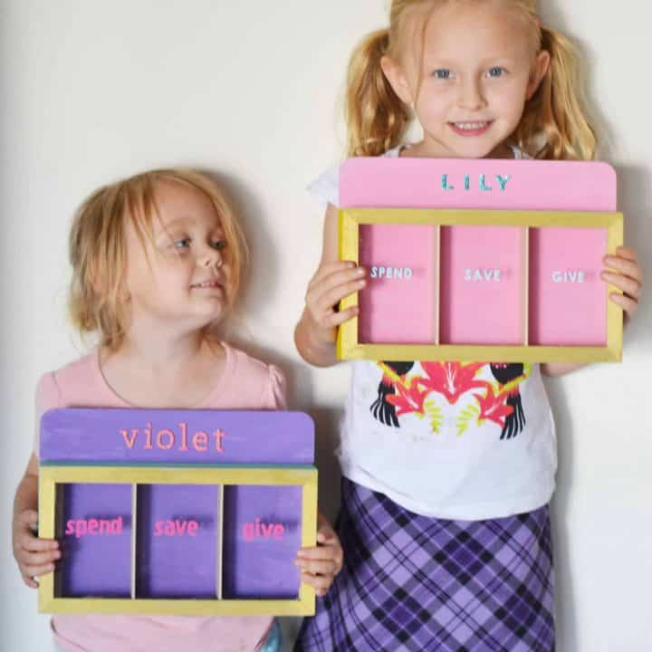 Kmart kids money box hack & tutorial
