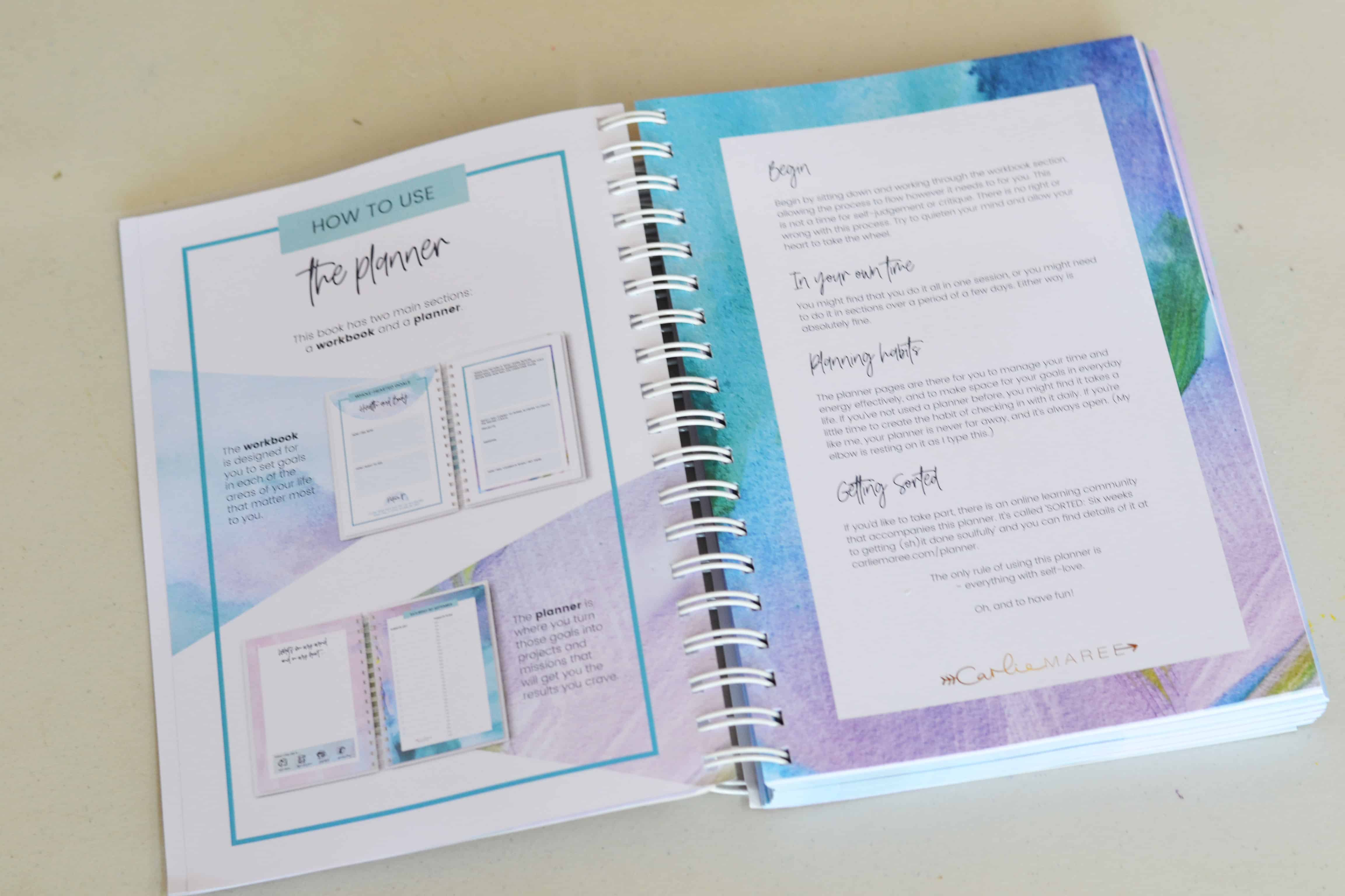 image about Time and to Do Planner named Change the Path Your self Method - Soul Seasons Planner Critique