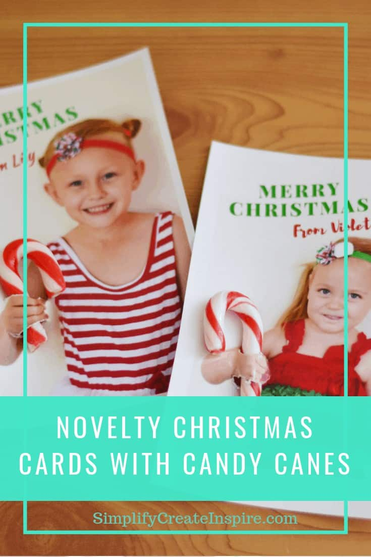 Novelty photo christmas cards