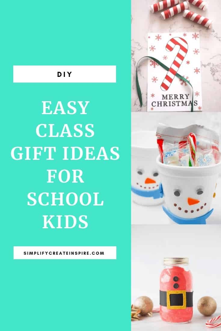 Easy diy class gift ideas for students