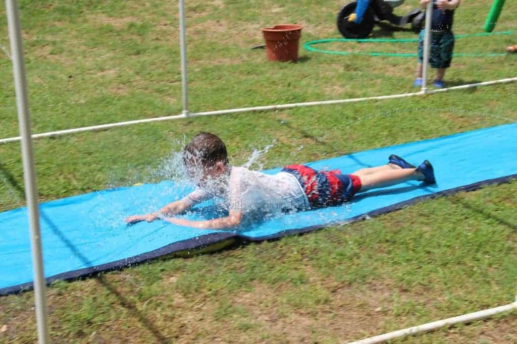 Sprinkler splash pad
