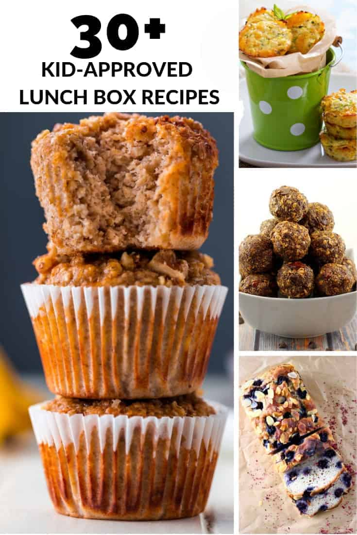 Delicious back to school recipes for lunch boxes