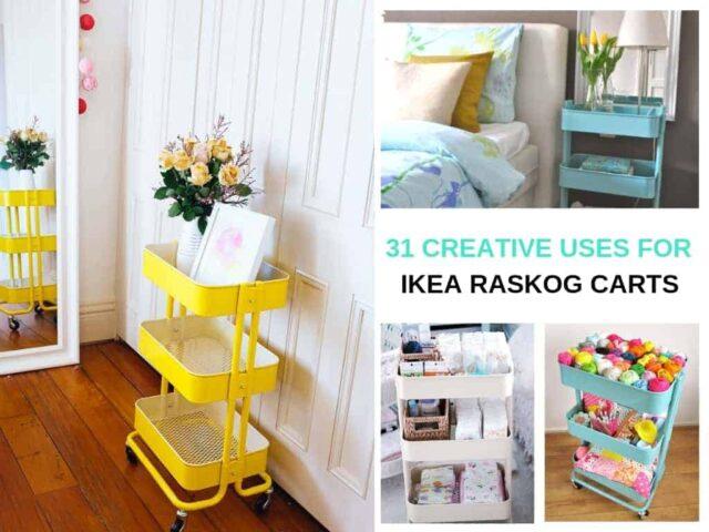 31 Creative Ikea Raskog Cart Ideas