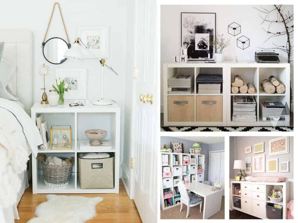 Ikea kallax inspiration & hacks for every room