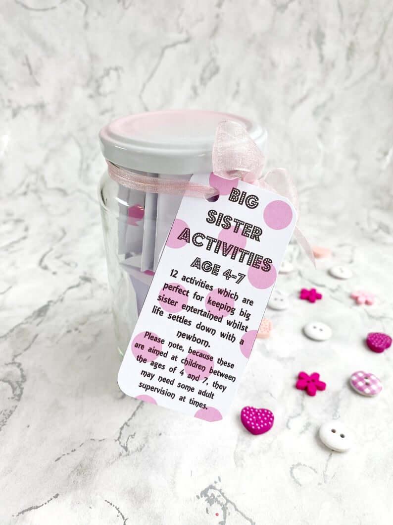 Big sister activity jar