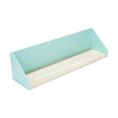 Wall shelf for ocean themed bedroom