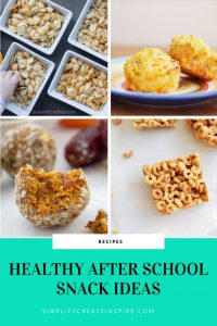 Yummy healthy after school snack ideas for kids