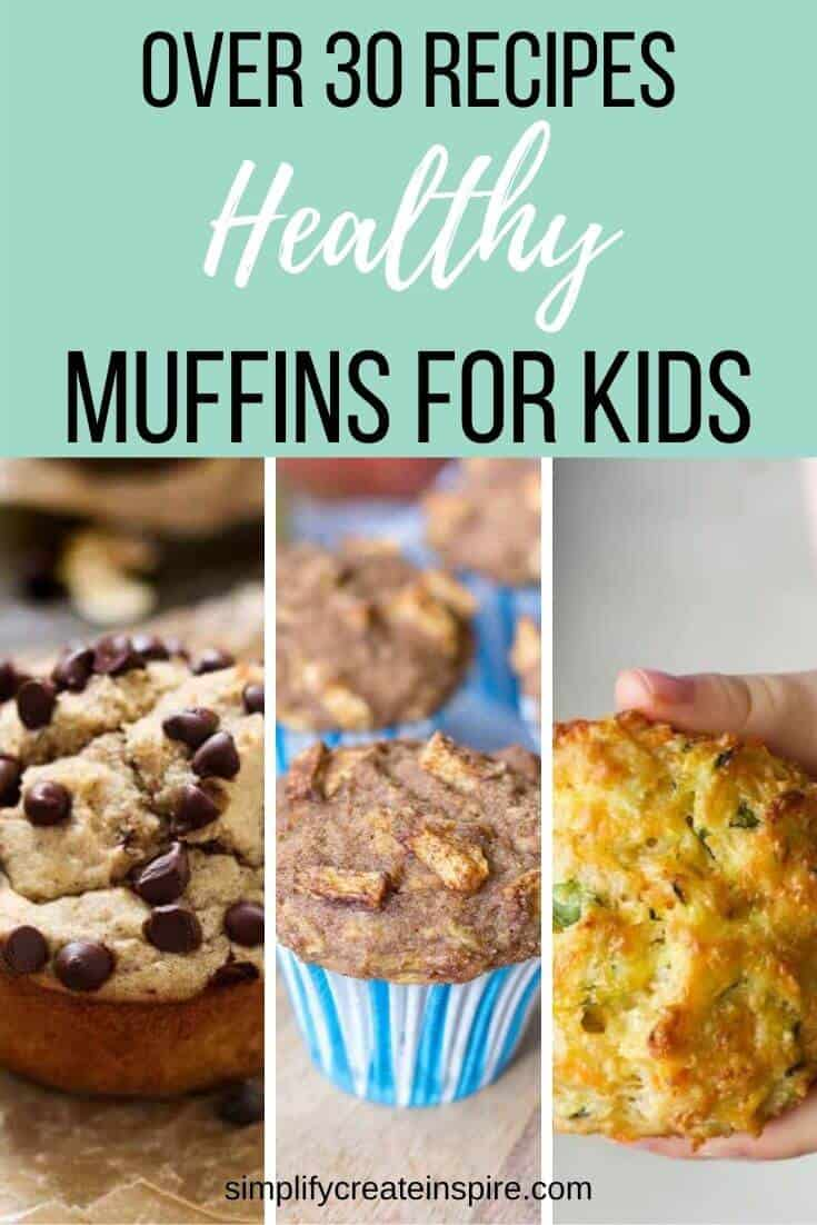 Healthy muffins for kids - easy to make muffin recipes