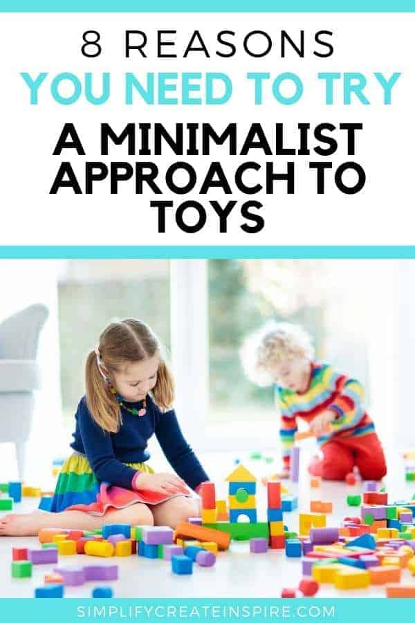 8 reasons to take the Minimalist approach to toys in your home - Minimalist kids room