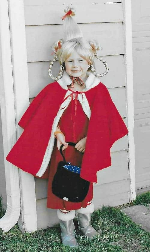Cindy lou dr seuss costume