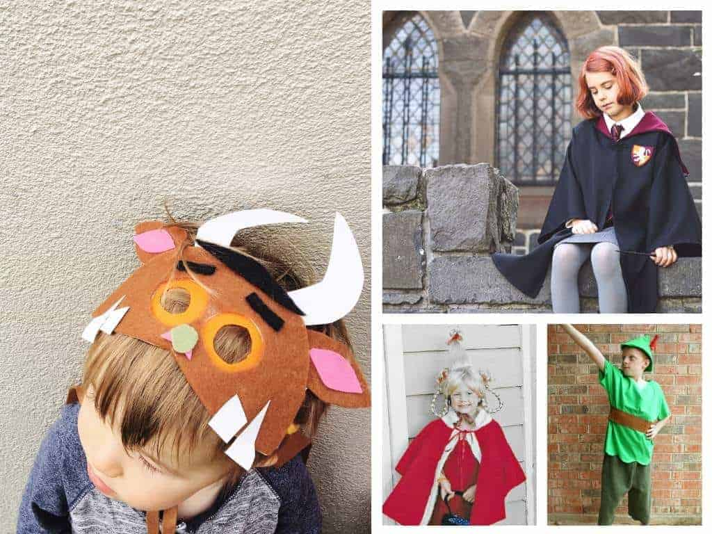 Book week costume ideas for kids