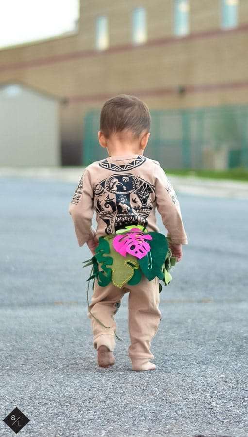 Maui costume diy