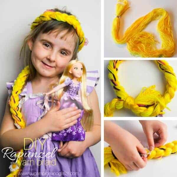 Rapunzel hair diy