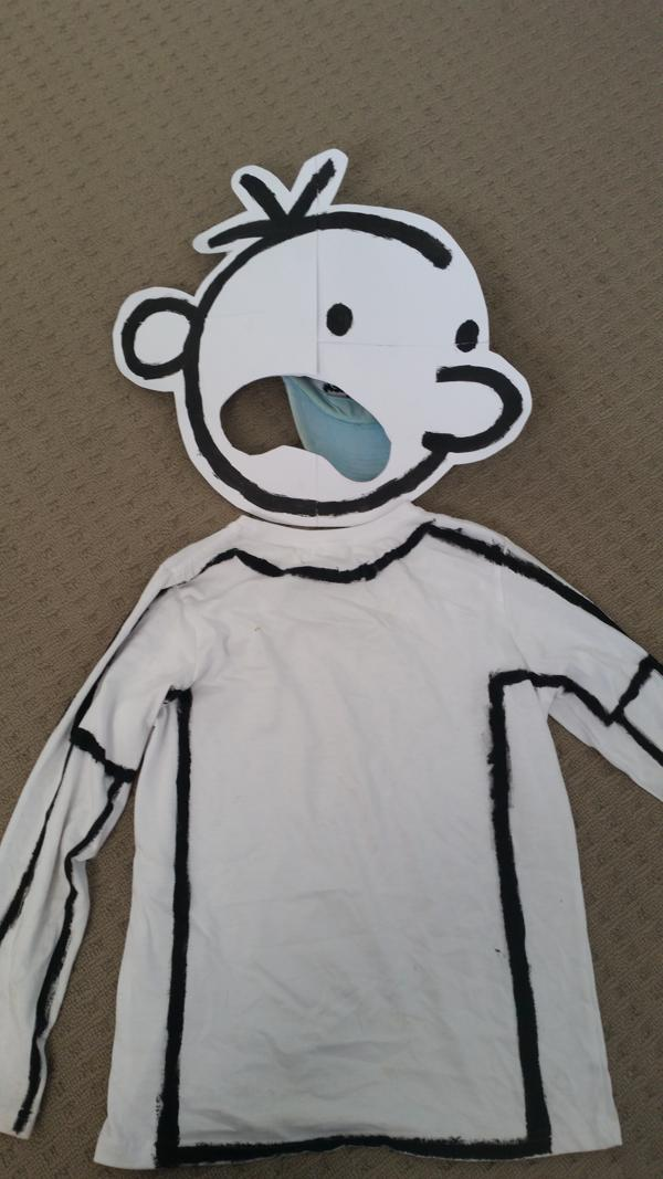 Diary of a wimpy kids costume