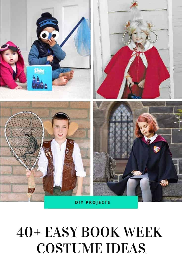 Easy Book week costume ideas for kids