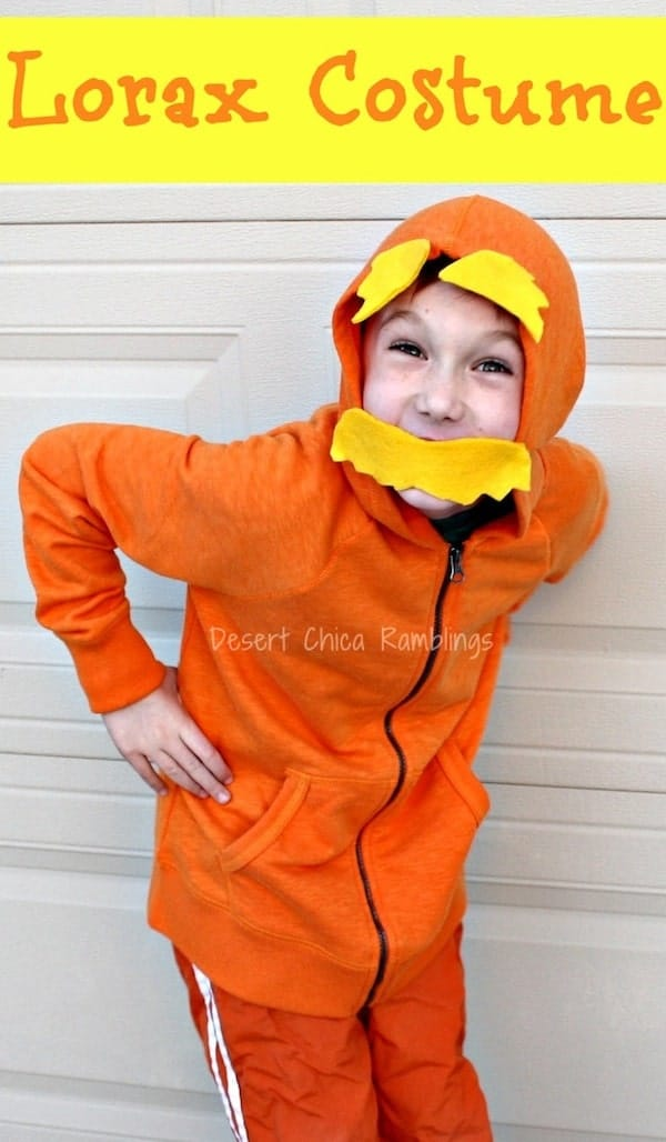 Lorax costume dr seuss