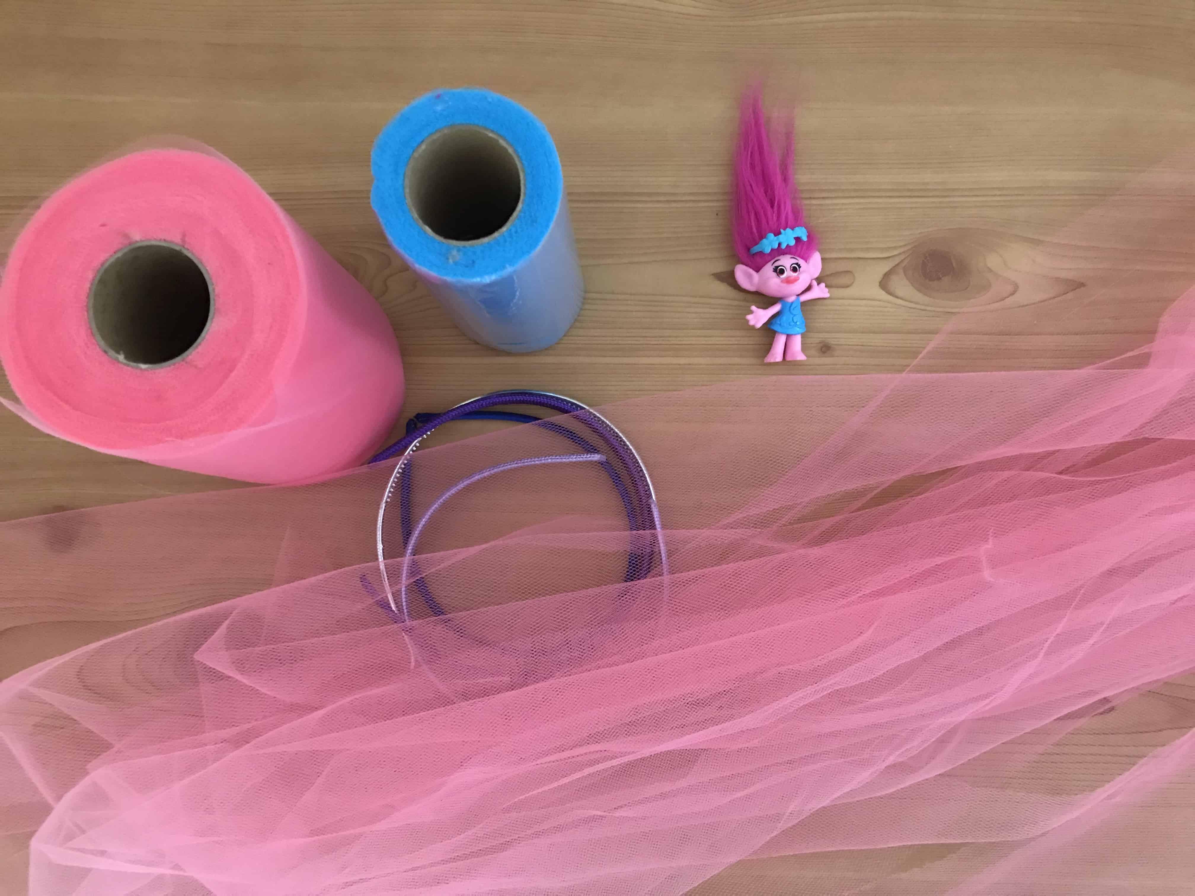 How to make diy trolls hair