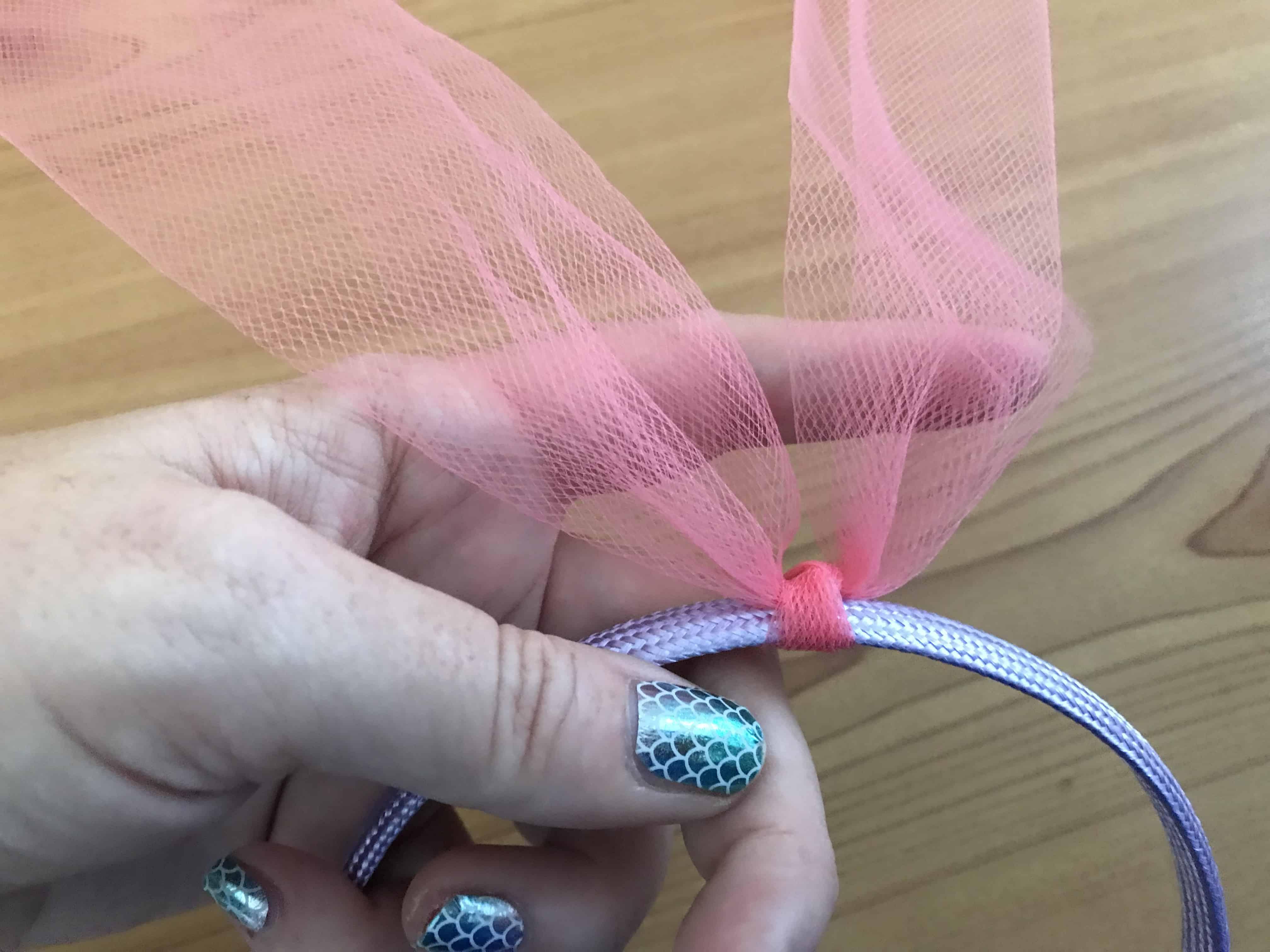 Make your own Poppy Troll Headband