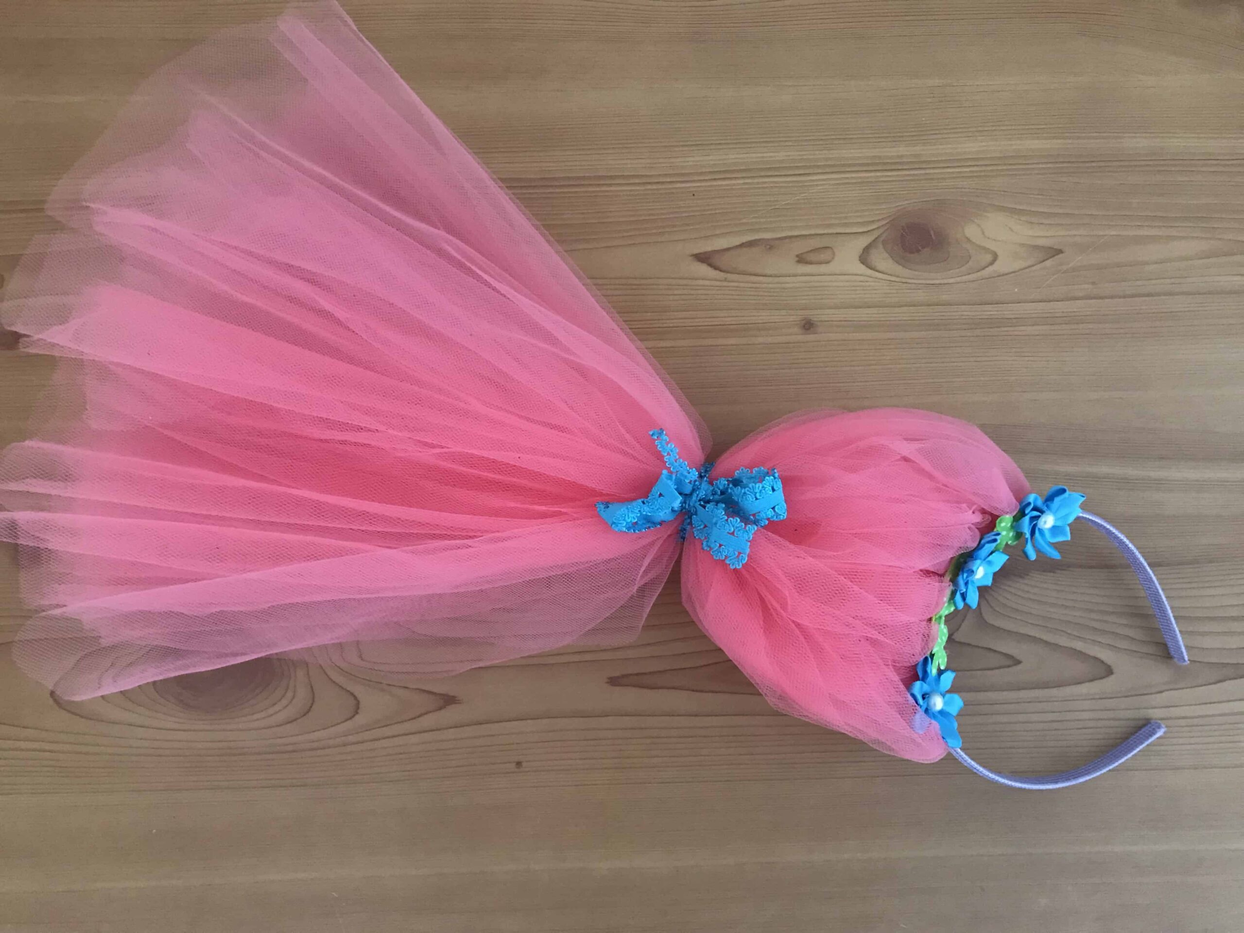 Make your own Poppy Troll Headband